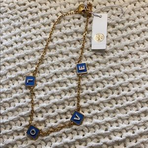 NWT Love Necklace Tory Burch
